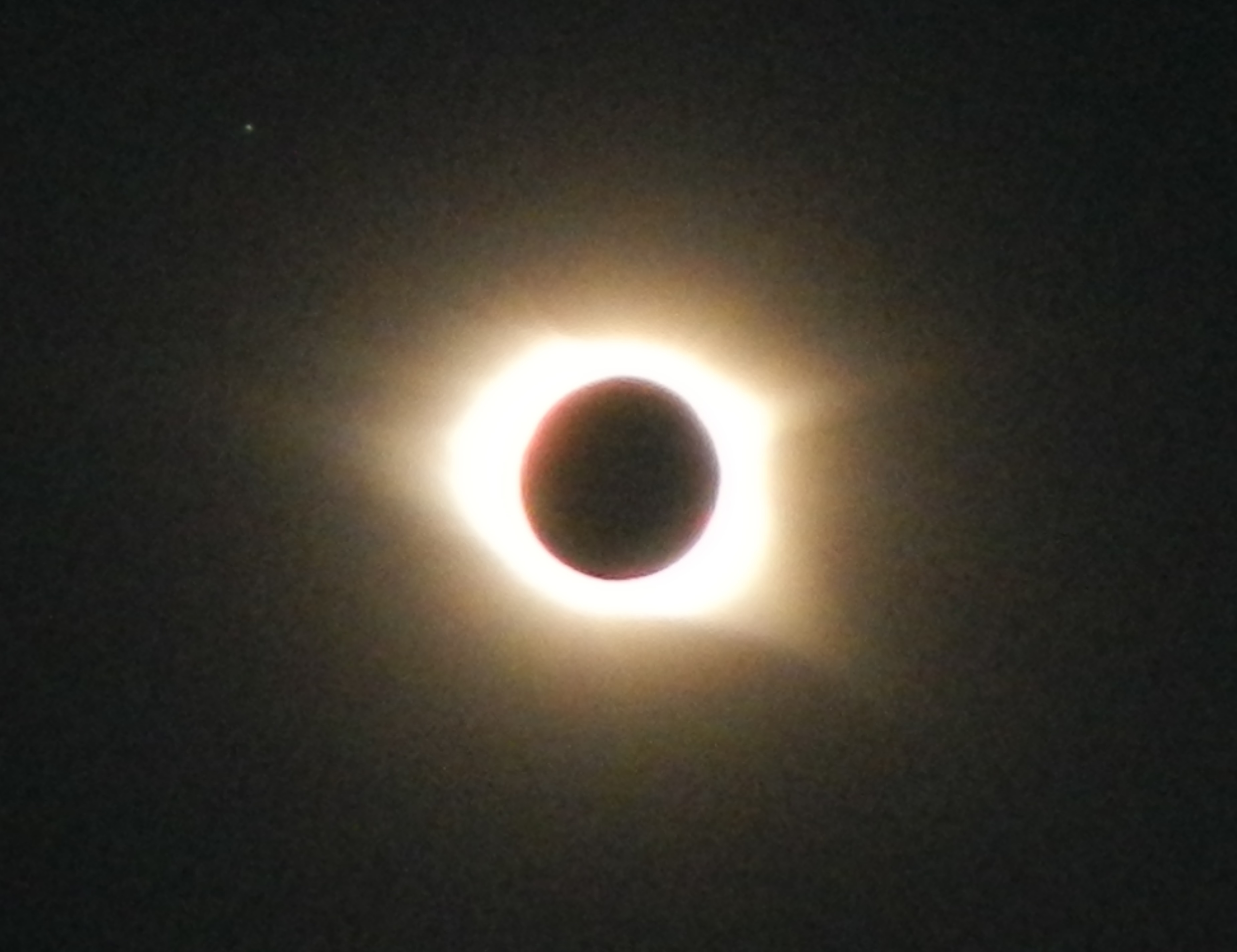 Total Solar Eclipse Photographed from Ken Wright's Digital Camera