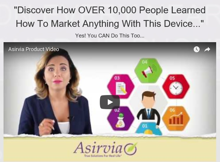 Asirvia Product Video