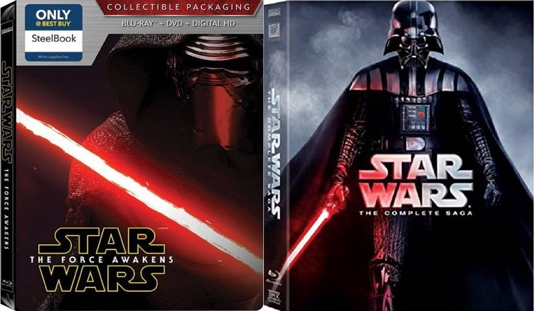 Star Wars - The Complete Saga - Episodes I - VII in Blu-ray